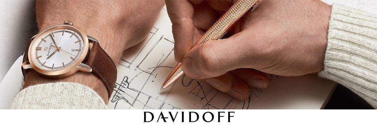 Davidoff Uhren, Schreibgeräte und Schmuck - nicht nur für...