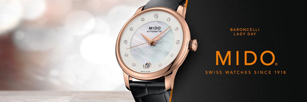 Mido Uhren für Damen und Herren