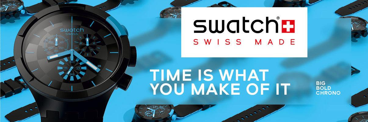 Swatch Uhren und Schmuck