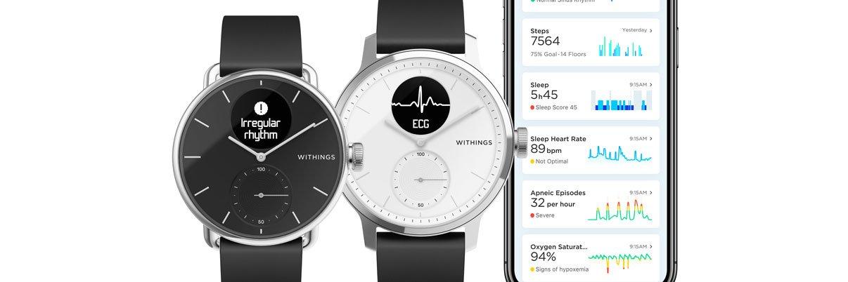 Smartwatches und Weareables für Damen und Herren