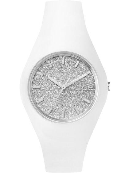 ICE glitter - White Silver - U
