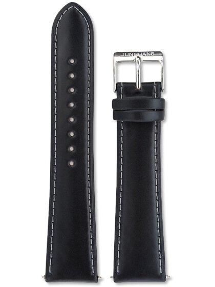 Lederuhrenarmband, 21 mm