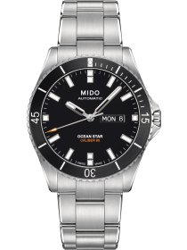 OCEAN STAR CAPTAIN Automatic Caliber 80, black