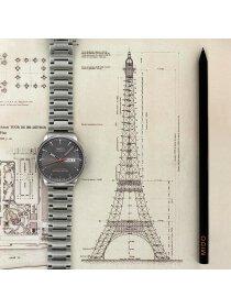 COMMANDER II Automatic Chronometer, grey, Stahlband