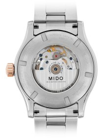MULTIFORT Automatic Chronometer, bicolor, Metallband