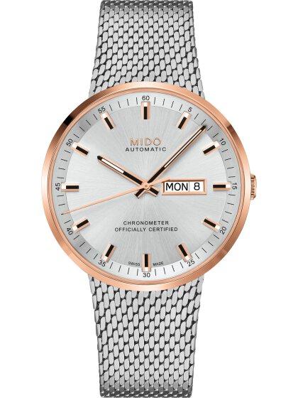 COMMANDER ICÔNE Automatik Chronometer silver/rosé
