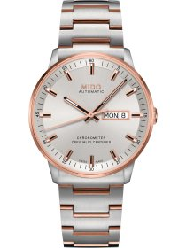 COMMANDER II Gent Automatic Chronometer, Stahlband