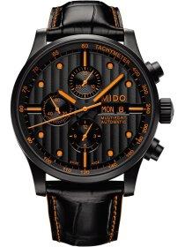MULTIFORT Automatic CHRONO Valjoux, black/orange