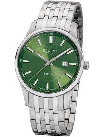 Armbanduhr Edelstahl grün