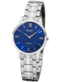 Armbanduhr blaues Zifferblatt