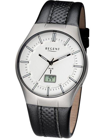 Armbanduhr mit Lederarmband