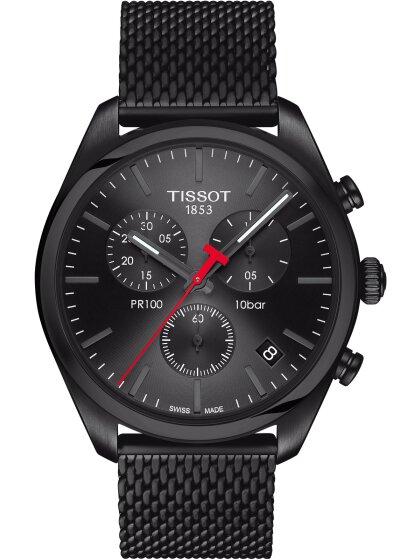 PR100 CHRONO Quartz, black