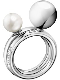 bubbly Ring set Stahl