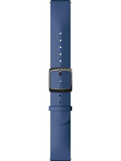 Silicone-Deep Blue-Sport buckle-20mm