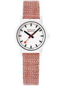 Essence Weiß, 32mm, Armband Rot
