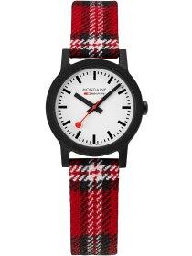 Essence Scottish Schwarz,Armband  Rot, 32 mm