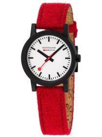 Essence Schwarz, 32mm, Armband Rot
