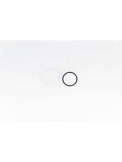 Batteriedeckel SVUW Weiß