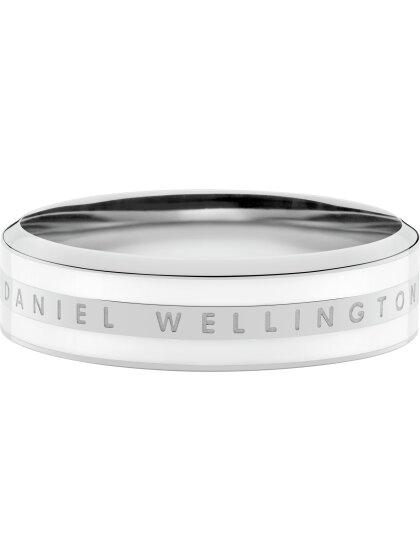 Classic Ring Satin white Stahl  58