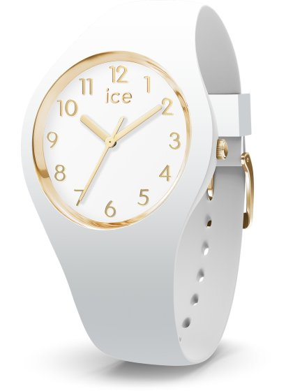 ICE glam White Goldfarben M