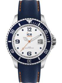 Ice steel - White blue - L