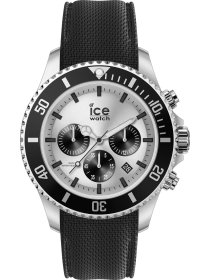 Ice steel - Black Silver - Chrono - L