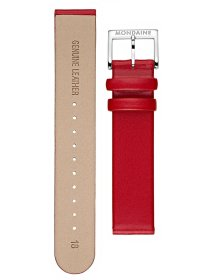Leder-rot-poliert-115 x 75-18 mm