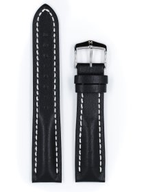 Heavy Calf, schwarz, L, 22 mm