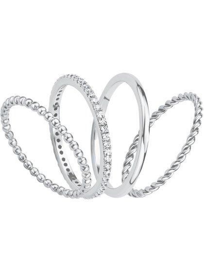 Damen Ring, 925er Sterling Silber