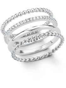 Damen Ring, 925er Sterling Silber