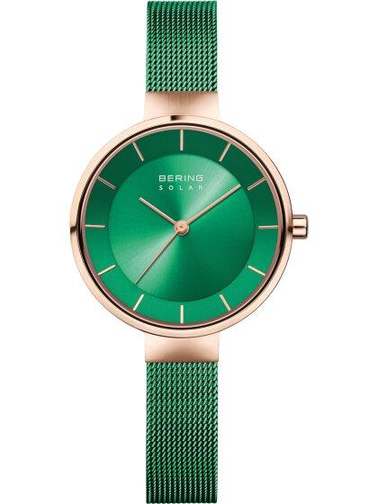 Solar Armbanduhr mit Milanaise Armband