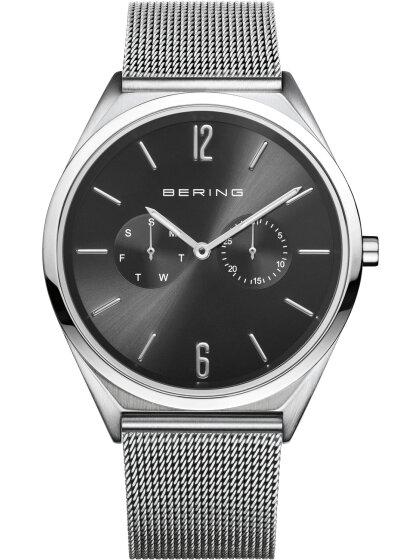 Armbanduhr mit Milanaise Armband Slim Design