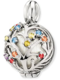 Bloom multicolor, Zirkonia, Silber, ER20BLOOMSZI