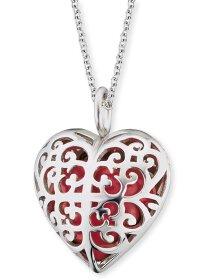 Halskette Herz rot
