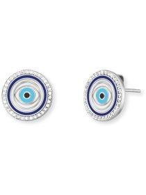 Ohrstecker Lucky Eye Emaille und Zikonia