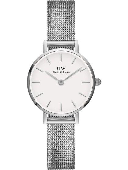 Classic Petite Weiss Silber