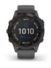 Garmin FENIX 6 PRO SOLAR m. silikon-armband 22mm,...
