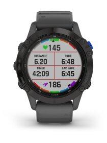 Garmin FENIX 6 PRO SOLAR m. silikon-armband 22mm, Schiefergrau