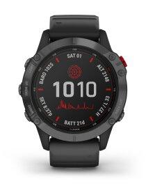 Garmin FENIX 6 PRO SOLAR m. silikon-armband 22mm, Schwarz