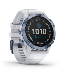 Garmin FENIX 6 PRO SOLAR m. silikon-armband 22mm, Steinweiss