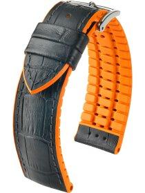 Andy, schwarz / orange