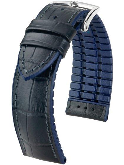 Andy, blau / schwarz L, 22 mm