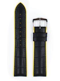 Andy, schwarz / gelb L, 22 mm