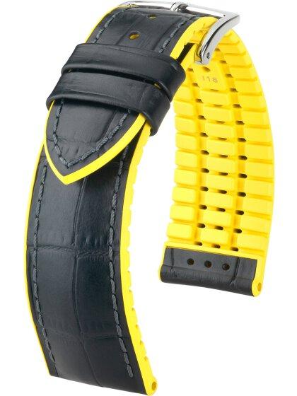 Andy, schwarz / gelb L, 24 mm