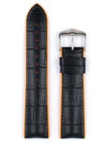 Andy, schwarz / orange L, 24 mm