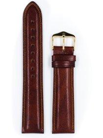 Ascot, goldbraun glänzend, L, 18 mm