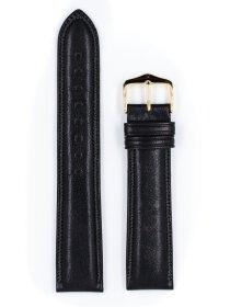 Ascot, schwarz glänzend, L, 19 mm