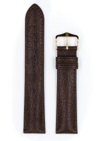 Camelgrain, dunkelbraun, L, 19 mm