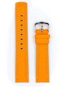 Carbon, orange, L, 22 mm