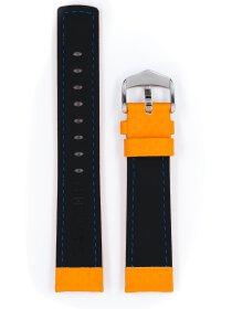 Carbon, orange, L, 24 mm